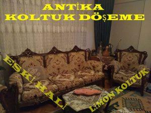 antika koltuk kaplama
