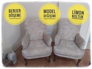 koltuk model değişimi